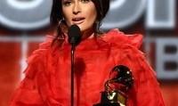 لیدی گاگا و آریانا گرانده از برندگان جوایز گرامی یکشنبه شب