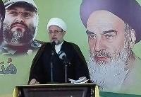 شیخ قاووق: با پیروزی انقلاب اسلامی ایران رویاهای اسرائیل دفن شد