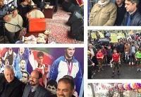 جشن چهل سالگی انقلاب با حضور گسترده مسئولان و اهالی ورزش