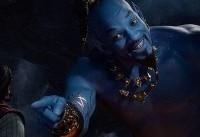 ویل اسمیت در هیات جینی دیده شد/ بازی در نقش غول آبی رنگ