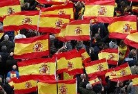 اسپانیا | راهپیمایی احزاب راست و راست افراطی درمخالفت با دولت سانچز
