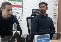 سرمربی پنجاب هند: داور پنالتی ما مقابل سایپا را نگرفت