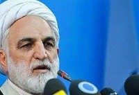 اژه ای: رئیس جدید قوه قضائیه تا پایان سال معرفی میشود / مرتضوی همچنان در زندان است