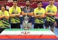 پایان کار نمایندگان ایران در اپن جهانی تنیس روی میز نوجوانان و جوانان بحرین