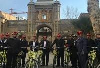 دوچرخه سواری شهرداران کلانشهرها از Â«بهشت» تا Â«پاستور»