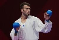 علی فداکار فینالیست شد / ۳ کاراته کا در دیدار رده بندی