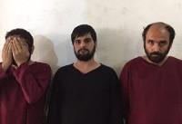 خودکشی رئیس تبهکاران در زمان دستگیری