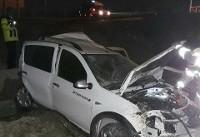 واژگونی خودرو در آزاد راه تهران- قم/راننده ساندرو فوت کرد