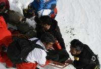 کوهنورد پرت شده در دره ۱۵۰ متری تفتان خاش نجات یافت
