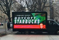 Schultz's 2020 Foray Risks Blowback to Starbucks in Blue America