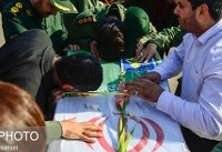 حضور دادستان کل کشور در مراسم تشییع پیکر شهدای حادثه تروریستی سیستان و بلوچستان