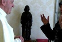 دیدار خانواده امام موسی صدر با پاپ و درخواست برای آزادی او
