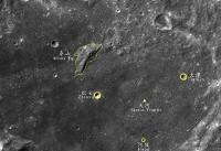 پنج مکان دیگر در کره ماه به نام چینی ها نامگذاری شد