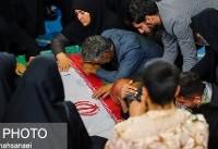 براگزاری مراسم تشییع پیکر شهدای  حادثه تروریستی خاش در اصفهان