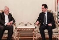ظریف: سیاست ایران توسعه روابط با اقلیم کردستان عراق است