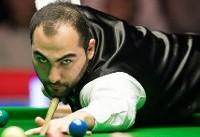 اسنوکر باز ایران از رسیدن به فینال مسابقات ولز بازماند
