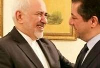 دیدار ظریف با مشاور امنیت اقلیم کردستان عراق