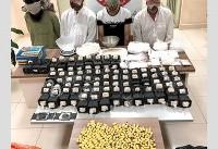 دستگیری ۴ نفر در حین انتقال مواد مخدر در اسفراین