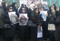از برگزاری مراسم تشییع همسر علی شریعتی در حسینیه ارشاد جلوگیری شد