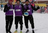 پنجمی نمایندگان ایران در تور والیبال برفی گرجستان