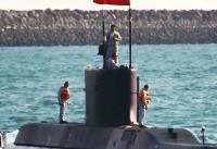 «زیردریایی فاتح»؛ محافظ جدید آبهای جنوب +تصاویر