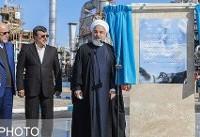 فاز سوم پالایشگاه میعانات گازی ستاره خلیج فارس افتتاح شد