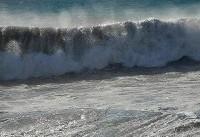 ارتفاع موج در خلیج فارس به ۲.۵ متر میرسد