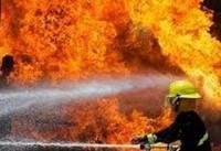 آتش سوزی انبار ضایعات در کرج مهار شد