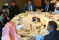 نشست مسئولان باشگاه ذوب آهن و الغرافه قطر برگزار شد