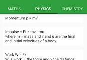 اپنت: گنجینه فرمولهای ریاضی، فیزیک و شیمی در All Formulas