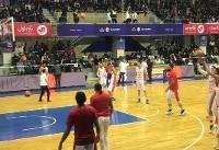 حضور کولاکوویچ در سالن بسکتبال آزادی