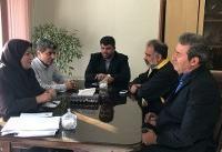 دهخدا همسرش را رئیس انجمن تیراندازی فدراسیون دانشگاهی کرد