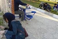 سم زدایی دوستداران طبیعت از یک بوستان در مازندران