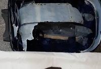 عکس/ کشف ۵ کیلوگرم تریاک از چمدان یک مسافر