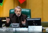 لاریجانی: مجلس پای منافع و امنیت ملی یکصداست