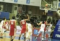پیروزی تیم ملی بسکتبال مقابل اردن در دیدار تدارکاتی