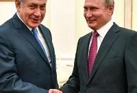 نتانیاهو با پوتین درباره ایران گفتوگو میکند