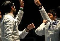تیم ملی شمشیربازی ایران در جام جهانی مجارستان هفتم شد