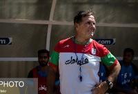 اوکتاویو: به خاطر بالا رفتن پرچم ایران خوشحال میشدم/  باید خیلی اضطراری ایران را ترک کنم