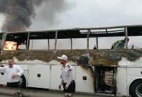 کشته شدن پنج نفر در انفجار لولههای گاز مسیر آزادراه اهواز به ماهشهر + تصاویر