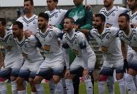 بلاتکلیفی دوباره ملوان در لیگ دسته اول فوتبال