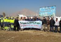 آمادهسازی بزرگراه امام رضا (ع) برای پذیرایی از زائران نوروزی
