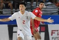 ژاپن و امارات فینالیست فوتبال ساحلی قهرمانی آسیا شدند