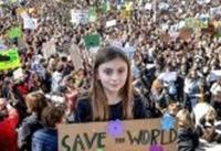 دانش آموزان ایتالیا علیه تغییرات اقلیمی استین بالا زدند