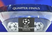 قرعه کشی یک چهارم نهایی لیگ قهرمانان انجام شد / منچستر یونایتد و بارسلونا به هم خوردند