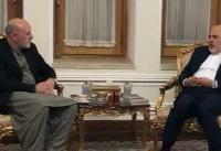 دیدار نماینده رئیس جمهور افغانستان در امور صلح با ظریف