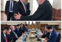 دیدار نماینده ویژه رئیس جمهور افغانستان با معاون سیاسی وزیر امور خارجه