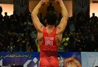 شکست آمریکا مقابل تیم ملی کشتی ایران