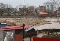 سیلاب ۵۰۰ خانواده را در سیمرغ از خانه اشان فراری داد
