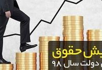 قوامی: حداقل ۴۴۰ هزار تومان افزایش حقوق توسط دولت اعمال شده است